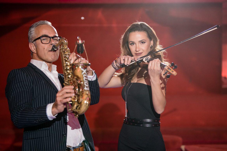 Neu in Österreich - DJ und E-Geige