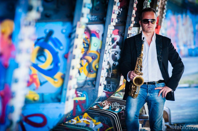 Unser neues Konzept DJ und Saxophonist!